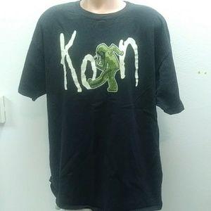Korn 2010 tour shirt